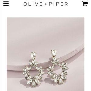 Olive + Piper Olivia Drop Earrings
